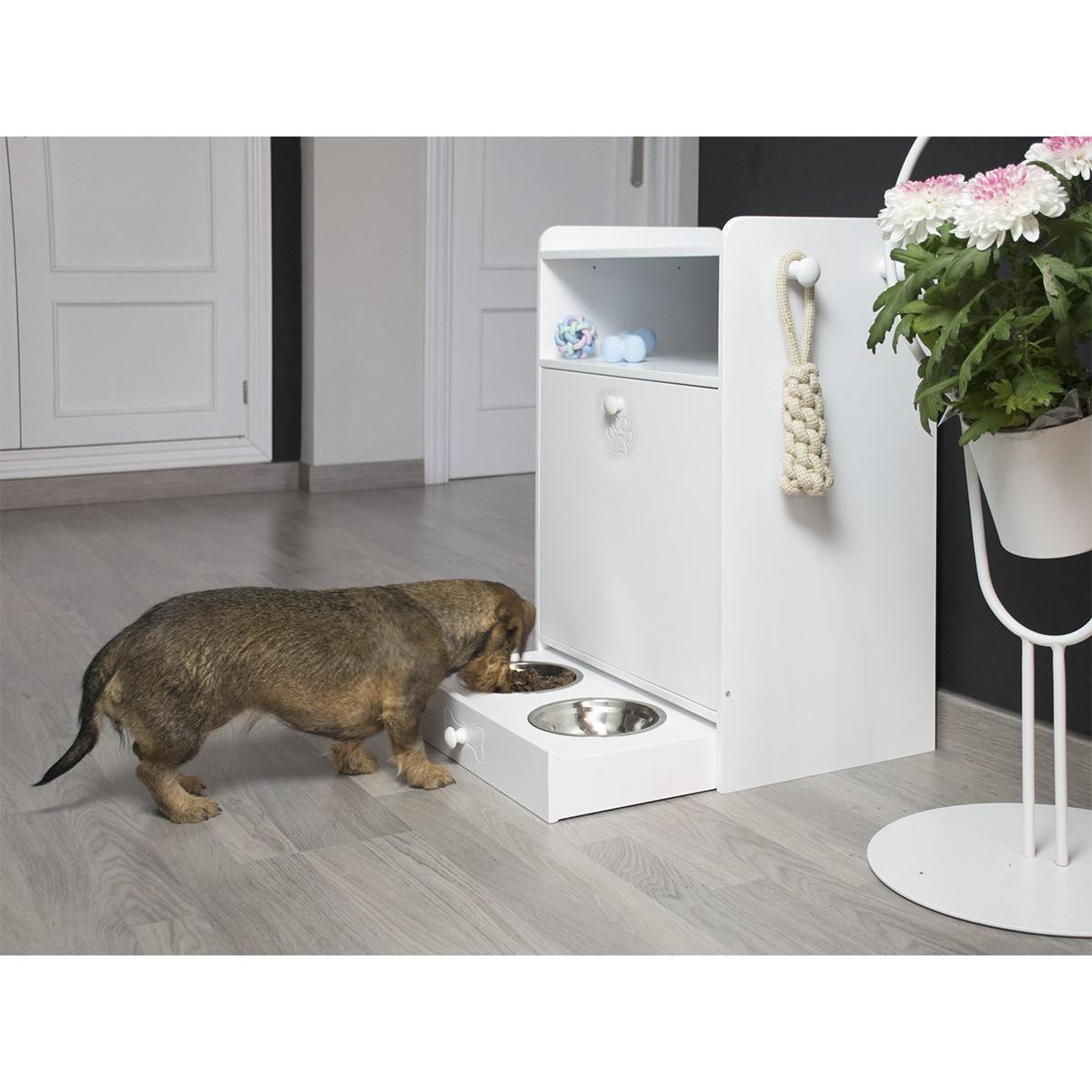 Armario de mascotas en casa dog-friendly